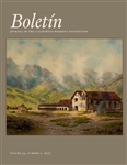 DOWNLOAD ONLY - BOLETIN Volume 33, No. 1, 2017 - Digital Download